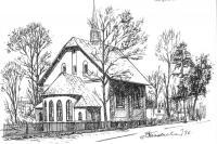Grafiki kościoła i kaplic